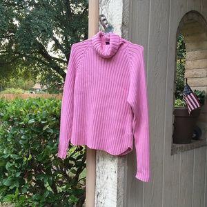 GAP Ribbed Pink  Sweater
